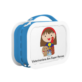 Veterinarians Are Super Heroes Lunch Box