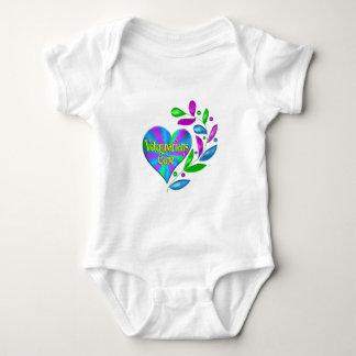 Veterinarians Care Baby Bodysuit