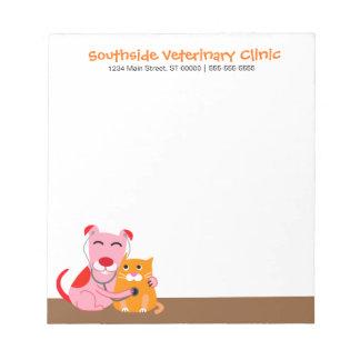 Veterinarian's Office Notepad