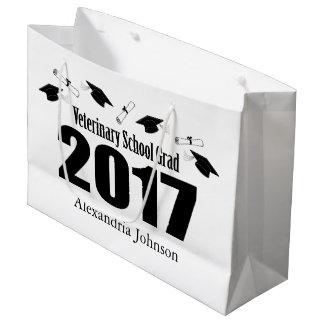 Veterinary Grad 2017 Graduation Gift Bag (Black)