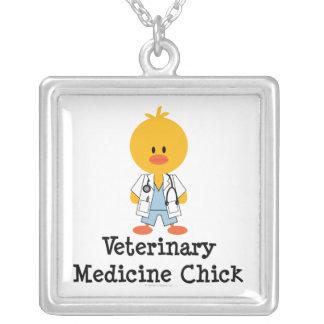 Veterinary Medicine Chick Necklace