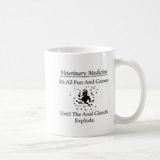 Veterinary Medicine - It's all fun and games until Classic White Coffee Mug