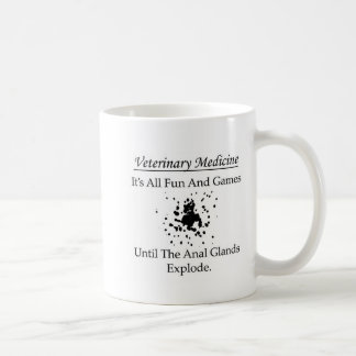 Veterinary Medicine - It's all fun and games until Coffee Mug