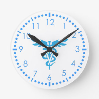 Veterinary medicine symbol clock
