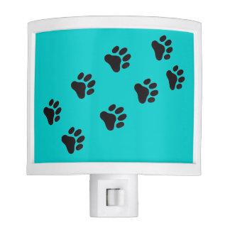 Veterinary Night Light Paw Prints