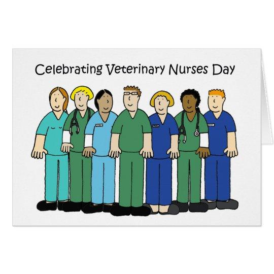 Veterinary Nurses Day. Card