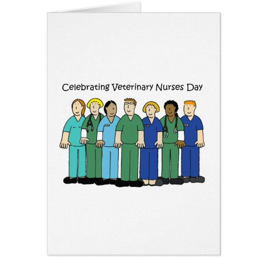 Veterinary Nurses Day. Card