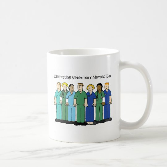 Veterinary Nurses Day. Coffee Mug