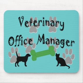 Veterinary Office Manager Mousepads