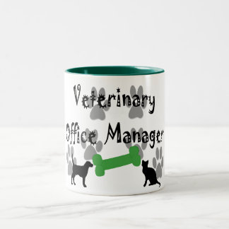 Veterinary  Office Manager Mugs
