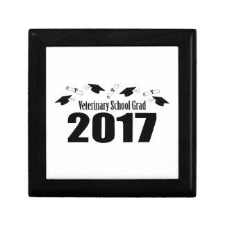 Veterinary School Grad 2017 Caps & Diplomas (Black Gift Box