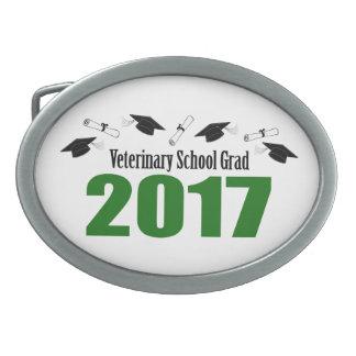 Veterinary School Grad 2017 Caps & Diplomas (Green Belt Buckles
