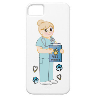 Veterinary Technician Appreciation Hearts and Paws iPhone 5 Covers