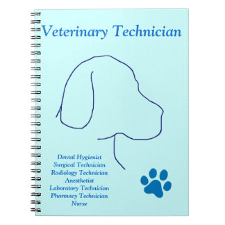 Veterinary Technician-Multiple Jobs Notebook