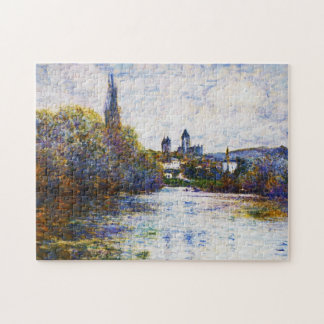 Vetheuil, The Small Arm of the Seine Claude Monet Jigsaw Puzzle