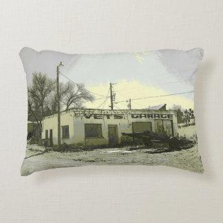 Vet's Garage Accent Pillow