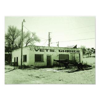 Vet's Garage Photo Print