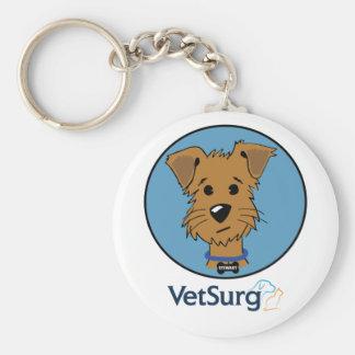 """VetSurg Stewy 2.25"""" Basic Button Keychain"""