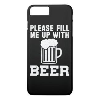 Veuillez me remplir de la bière coque iPhone 7 plus