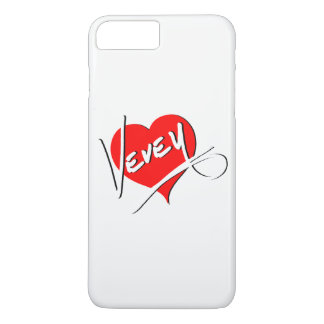 Vevey Heart Logo by Baronsky iPhone 8 Plus/7 Plus Case