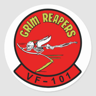 VF-101 Grim Reapers Sticker