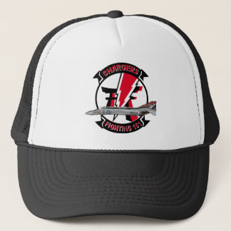 VF-161 Chargers Squadron & F-4 Phantom Trucker Hat