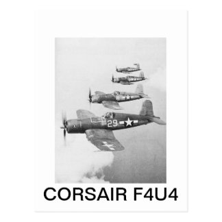 VF-17 F4U4 CORSAIRS POSTCARD