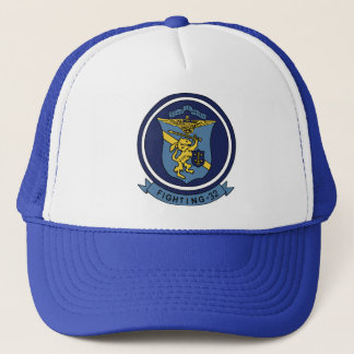 VF-32 Swordsmen F-14 トムキャット VF-32 スォーズメン Trucker Hat