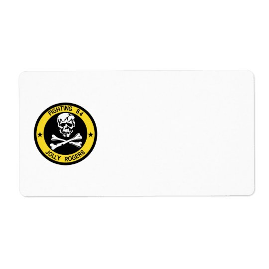 VF-84 Jolly Rogers Avery Label