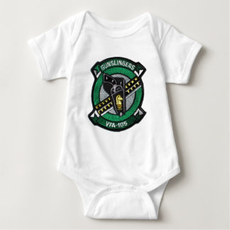 vfa-105 squadron patch baby bodysuit