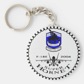 VFA-143 Pukin' Dogs - F-18 Super Hornets Keychain