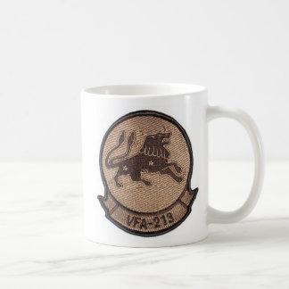 vfa 213 desert squadron patch classic white coffee mug