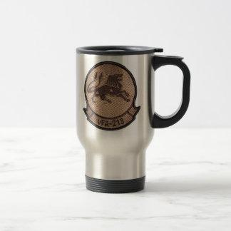 vfa 213 desert squadron patch - Customized 15 Oz Stainless Steel Travel Mug