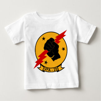 VFA - 25 Fighter Squadron Fist Of The Fleet Baby T-Shirt
