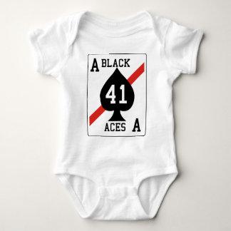 VFA - 41 Fighter Squadron Black Aces Baby Bodysuit