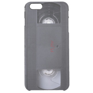 VHS play graphic phone case