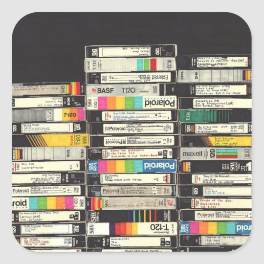 VHS Stickers