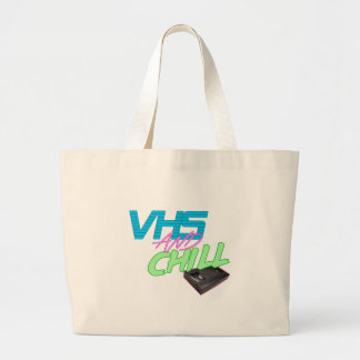VHSnCHill Large Tote Bag