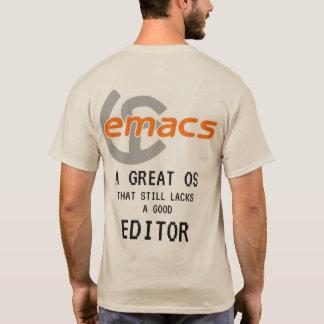 VI versus Emacs T-Shirt