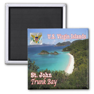 VI - Virgin Islands - St. John Trunk Bay Magnet