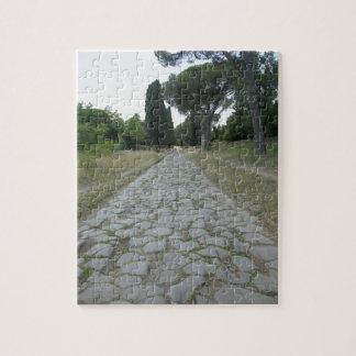 Via Appia  Appian way, roman roadway Jigsaw Puzzle