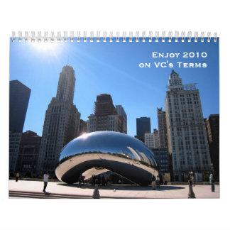 Via Chicago 2010 Calendar