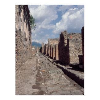 Via di Stabia Postcard