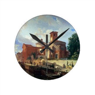 Via Fatabene Fratelli, Milan, 1830 Clocks
