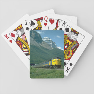 Via FP-7 #6302 leads Train #2_Trains Playing Cards