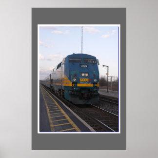 Via Rail Poster