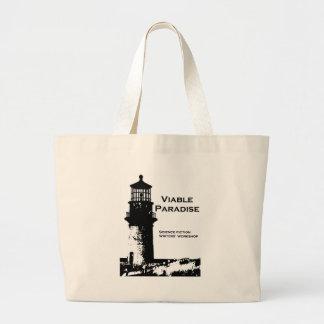 Viable Paradise Lighthouse Large Tote Bag