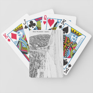 """Viaduct """"polvorilla"""" (Pencil design) Bicycle Playing Cards"""