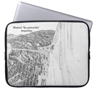 "Viaduct ""polvorilla"" (Pencil design) Laptop Sleeve"