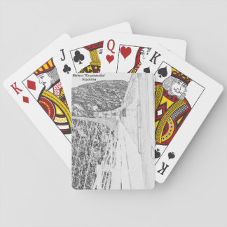 """Viaduct """"polvorilla"""" (Pencil design) Playing Cards"""